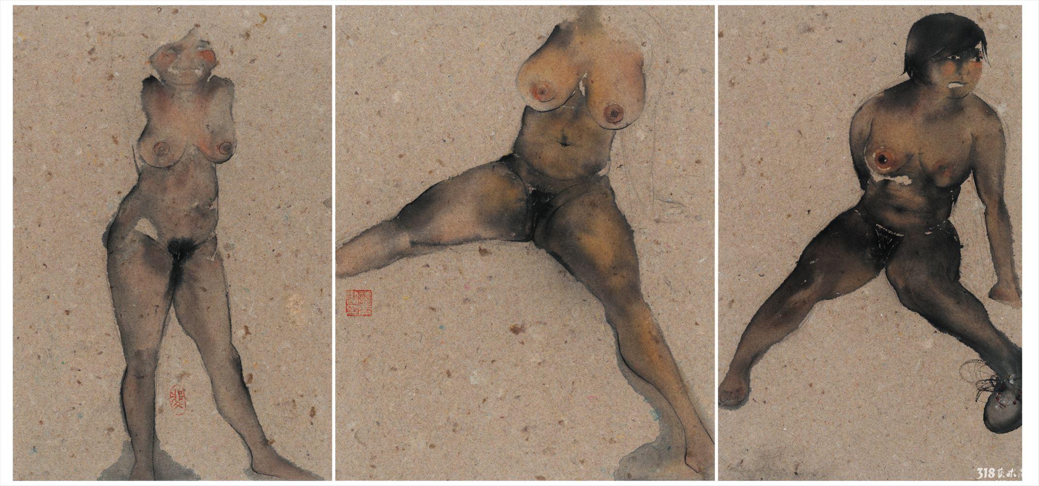 狗人体彩绘图片