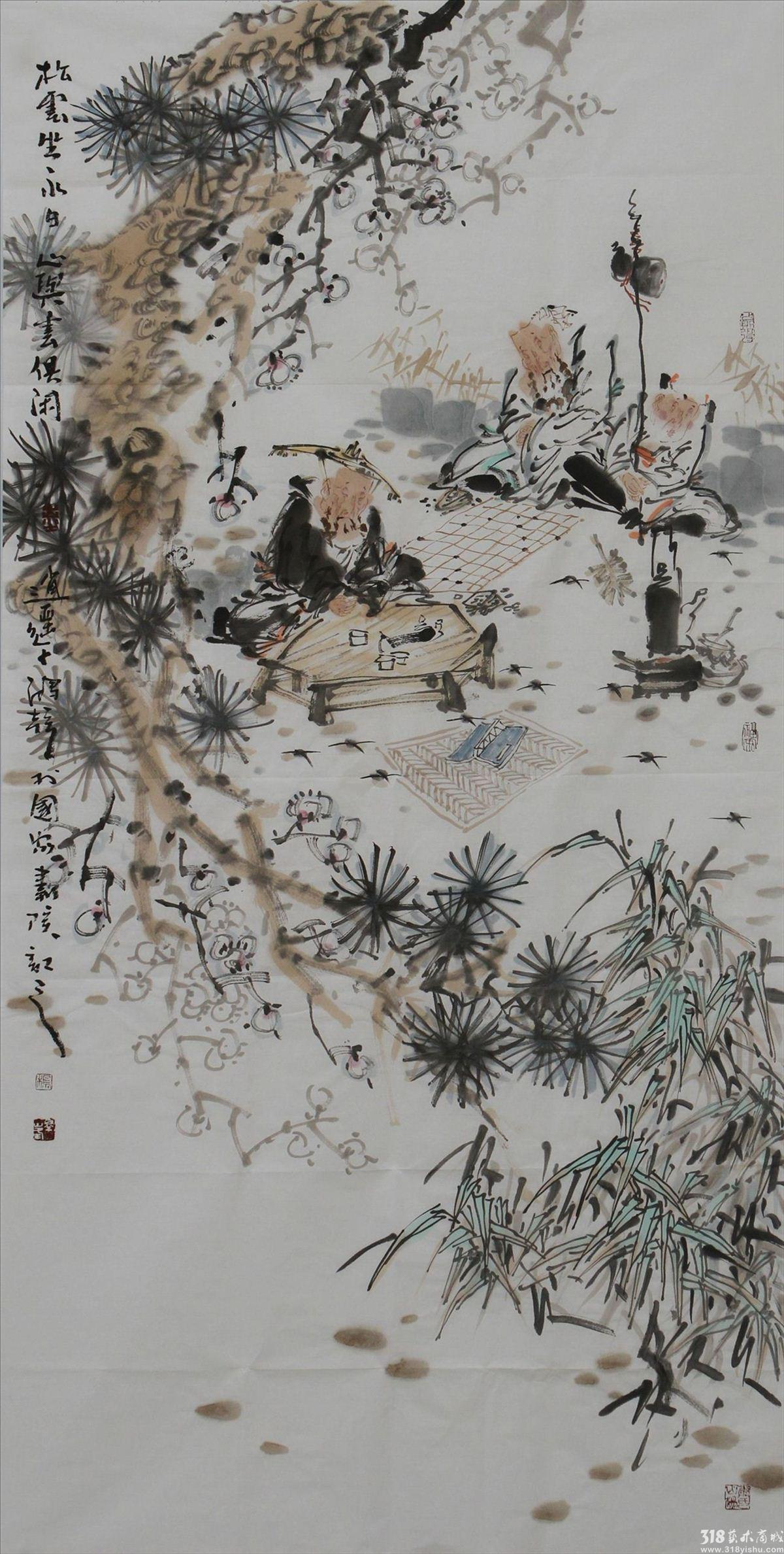 藏族水墨风景图片大全