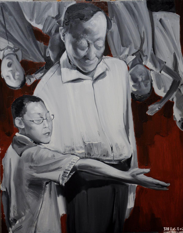 张志彬_祖国的花朵2_人物_油画_318艺术商城_首家学院图片