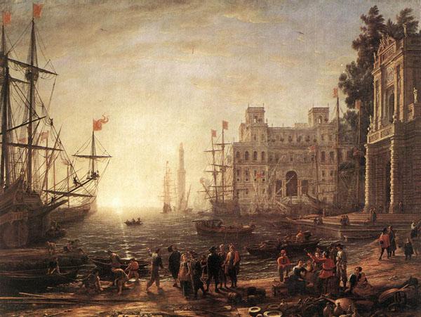 法国古典主义风景画家——洛兰
