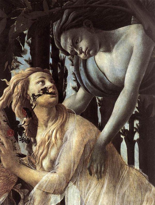 318推荐波提切利的油画《春》和《维纳斯的诞生》图片