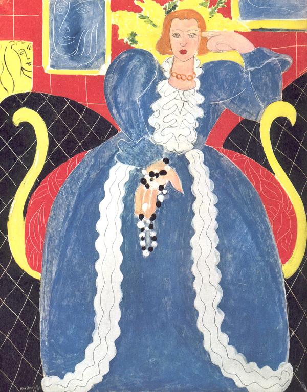 马蒂斯作品舞蹈_318推荐野兽派创始人亨利·马蒂斯的艺术欣赏_艺术鉴赏