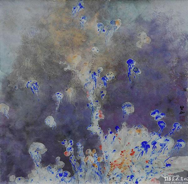 莫里加:一直画下去   除了画画, 318艺术家莫里加最喜欢的就是音乐