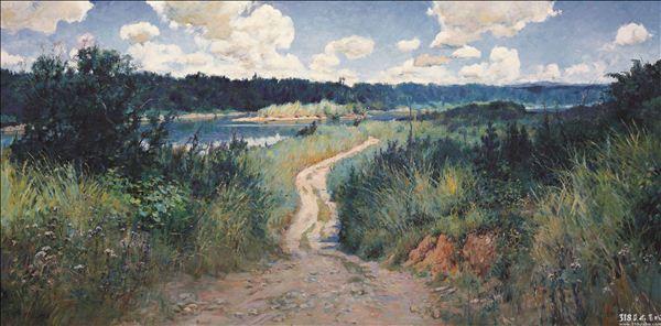 印象派风景油画技法