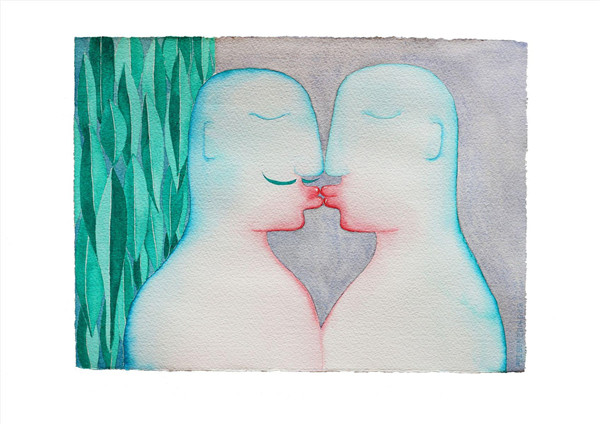 情绪串联的整幅画面构成了和谐的视觉观澜,整体意义上的和谐给人最