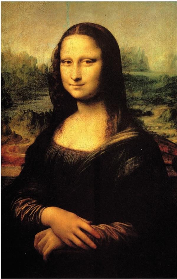 《蒙娜丽莎》创作约同个时期,两幅画有许多艺术家在那时期绘画风格的图片