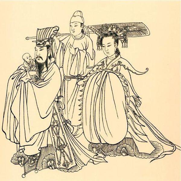 """318推荐唐代人物画名家1——""""画圣""""吴道子"""